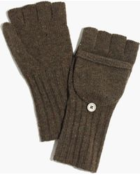 Madewell Merino Ribbed Gloves - Lyst