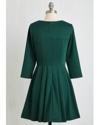 Sunny Girl Pty Lltd - Either Or Dress In Forest - Lyst