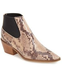Topshop Women'S 'Marr' Pointy Toe Chelsea Boot - Lyst