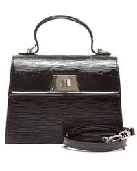 Louis Vuitton Preowned Black Epi Electric Sevigne Pm Bag - Lyst