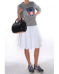 Theory Zaikin Skirt In Retrieve white - Lyst