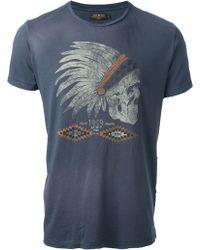 Rude Riders - Skull Headdress Print Tshirt - Lyst