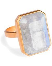 Ringly - Bluetooth Smart Ring - Rainbow Moonstone - Lyst