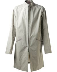 Gustavo Lins Reversible Trench Coat - Lyst
