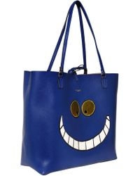 Essentiel - Cheshire Cat Faux Leather Tote Bag - Lyst