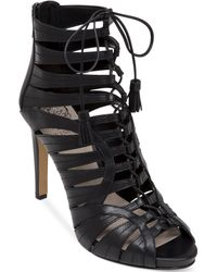 Vince Camuto Narrital Lace-up Gladiator Sandals - Lyst