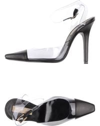 Michael Kors White Pump - Lyst