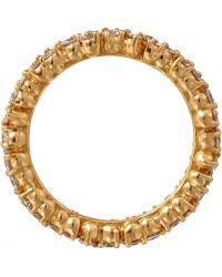 Paul Morelli - Rose Gold Diamond Confetti Ring - Lyst