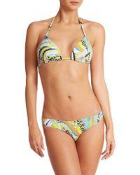 Emilio Pucci Two-Piece Padded Bikini multicolor - Lyst