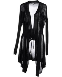 Just Cavalli Black Cardigan - Lyst
