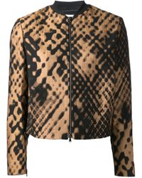 3.1 Phillip Lim Cropped Bomber Jacket - Lyst