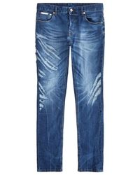 Just Cavalli | Tiger Scratch Slim Jeans | Lyst