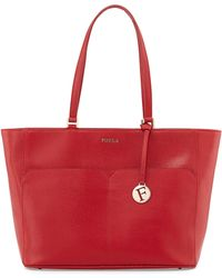 Furla Musa East-West Leather Tote Bag - Lyst