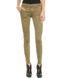 Current/Elliott Flat Pocket Cargo Pants   - Lyst