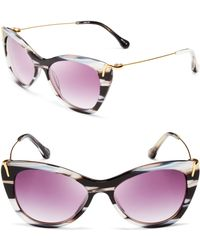 Elizabeth And James Fillmore Cat Eye Sunglasses - Lyst