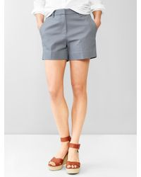 Gap Tailored Shorts - Lyst