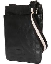 Bally Leather Crossbody Bag - Lyst