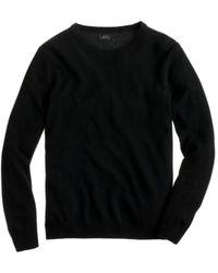 J.Crew Tall Italian Cashmere Crewneck Sweater - Lyst