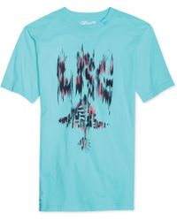 LRG Blurred Tree Graphic Tshirt - Lyst