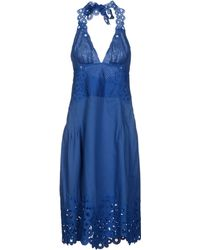 Catherine Malandrino Kneelength Dress - Lyst