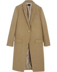 J.Crew Collection Harris Tweed Wool Coat - Lyst