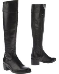 Balenciaga Black Boots - Lyst