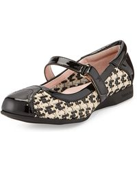 Taryn Rose True Woven Mary Jane Sneaker - Lyst