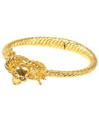 Alexander McQueen - Rope And Skull Bracelet - Lyst