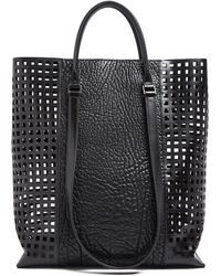 Helmut Lang Argon Leather Tote - Lyst