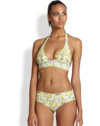 OndadeMar Clear Water Bikini Top - Lyst