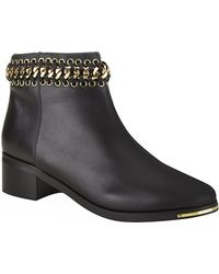 KG by Kurt Geiger Speed Leather Ankle Boot - Lyst