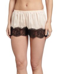 Underella By Ella Moss - Leighton Lace-trim Tap Lounge Pants - Lyst