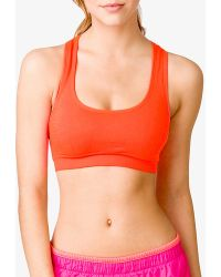 Forever 21 Low Impact Sports Bra - Lyst