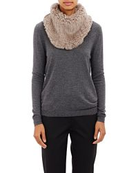 Barneys New York | Knitted-fur Cowl | Lyst