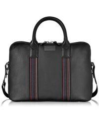 Paul Smith - City Webbing Black Leather Slim Business Folio - Lyst
