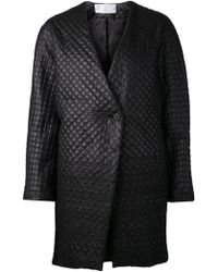 Thakoon Addition - Quilted Cocoon Coat - Lyst
