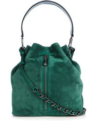 Elizabeth and James - Cynnie Suede Bucket Bag - Lyst