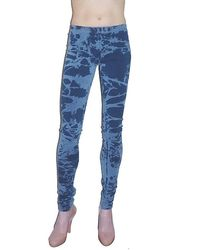 Pima Doll - Denim Starburst Legging - Lyst