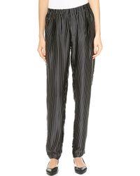Clu Pleated Pants - Black - Lyst