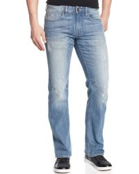 Guess Regular-Fit Retribution-Wash Bootcut Jeans - Lyst