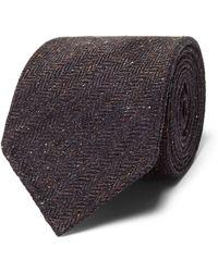 Thom Sweeney - Herringbone Silk Tie - Lyst