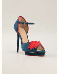Charlotte Olympia Eternity Sandals - Lyst
