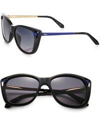 Dior Chromis Havana Matte Optyl Sunglasses - Lyst
