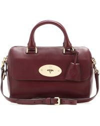 Mulberry Small Del Rey Leather Tote - Lyst