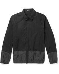 Jil Sander Colour-block Cotton Jacket - Lyst