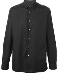 Raf Simons Regular Fit Shirt - Lyst