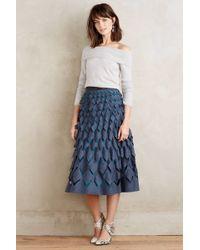 Not So Serious By Pallavi Mohan   Diamond-cut Felt Skirt   Lyst