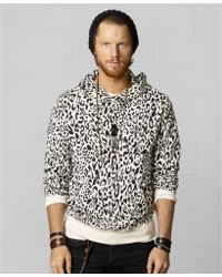 Denim & Supply Ralph Lauren Snow Leopard Hoodie - Lyst