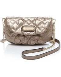 Marc By Marc Jacobs Crossbody - New Q Quilted Metallic Karlie - Lyst