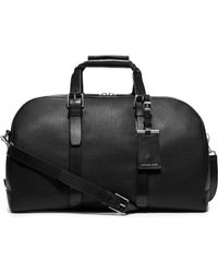 Michael Kors Bennett Large Pebbled-Leather Duffel - Lyst
